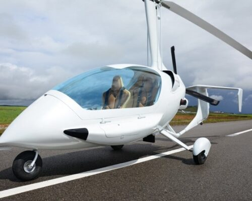 Hen Party Gyroplane Flying